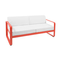 Bellevie Outdoor 2 Seater Sofa - Capucine/Off White