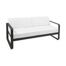 Bellevie Outdoor 2 Seater Sofa - Liquorice/Off White