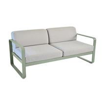 Bellevie Outdoor 2 Seater Sofa - Cactus/Flannel Grey