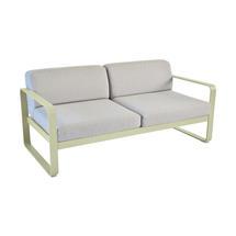 Bellevie Outdoor 2 Seater Sofa - Willow Green/Flannel Grey