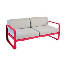Bellevie Outdoor 2 Seater Sofa - Pink Praline/Flannel Grey