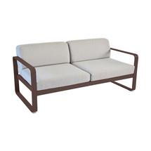 Bellevie Outdoor 2 Seater Sofa - Russet/Flannel Grey