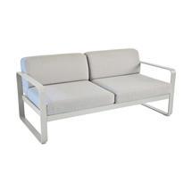 Bellevie Outdoor 2 Seater Sofa - Steel Grey/Flannel Grey