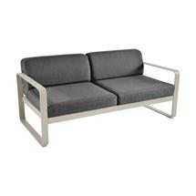 Bellevie Outdoor 2 Seater Sofa - Nutmeg/Graphite Grey