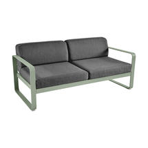 Bellevie Outdoor 2 Seater Sofa - Cactus/Graphite Grey