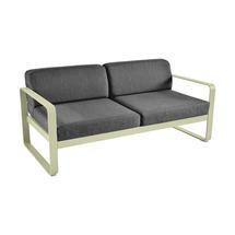 Bellevie Outdoor 2 Seater Sofa - Willow Green/Graphite Grey