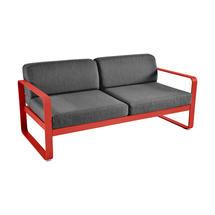 Bellevie Outdoor 2 Seater Sofa - Capucine/Graphite Grey