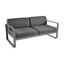 Bellevie Outdoor 2 Seater Sofa - Storm Grey/Graphite Grey