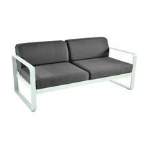 Bellevie Outdoor 2 Seater Sofa - Ice Mint/Graphite Grey