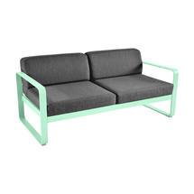 Bellevie Outdoor 2 Seater Sofa - Opaline Green/Graphite Grey