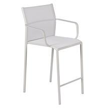 Cadiz Bar Chair with Arms - Stereo Clay Grey