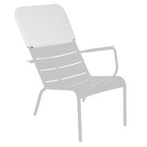 Luxembourg Low Armchair Headrest - Stereo Clay Grey