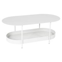 Salsa Low Table- Cotton White