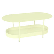 Salsa Low Table- Frosted Lemon