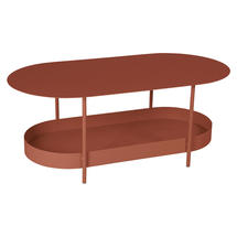 Salsa Low Table- Red Ochre