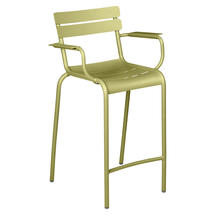Luxembourg High Armchair - Willow Green