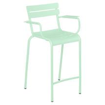 Luxembourg High Armchair - Opaline Green
