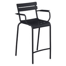 Luxembourg High Armchair - Anthracite