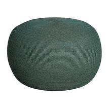 Circle Large Footstool - Dark Green