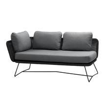 Horizon 2 Seat Sofa - Right Module - Black