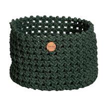 Cane-line Rope Basket Large - Dark Green