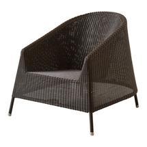 Kingston Woven Lounge Chair - Mocca
