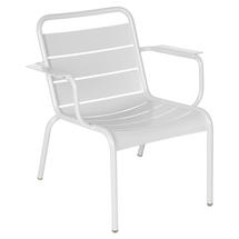Luxembourg Lounge Armchair- Cotton White