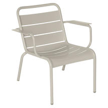 Luxembourg Lounge Armchair- Clay Grey