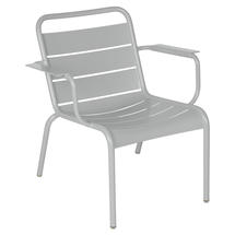 Luxembourg Lounge Armchair- Steel Grey