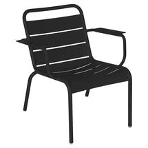 Luxembourg Lounge Armchair- Liquorice
