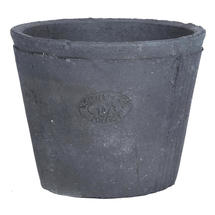 Black Smoked Terracotta Plant Pot