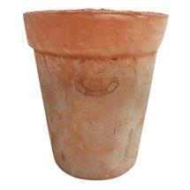 Aged Terracotta Long Tom Pot