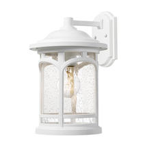 Marblehead 1 Light Wall Lantern White