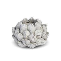 Stone Effect Artichoke Tea Light Holder