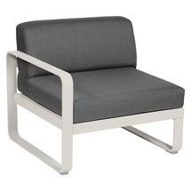 Bellevie 1 Seater Left Module - Clay Grey/Graphite Grey