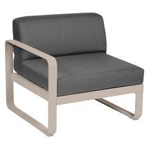 Bellevie 1 Seater Left Module - Nutmeg/Graphite Grey