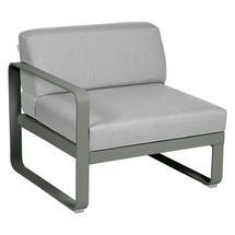 Bellevie 1 Seater Left Module - Rosemary/Flannel Grey