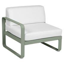 Bellevie 1 Seater Left Module - Cactus/Off White