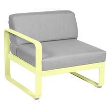 Bellevie 1 Seater Left Module - Frosted Lemon/Flannel Grey