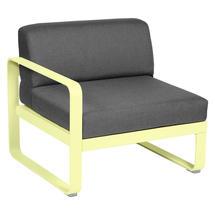 Bellevie 1 Seater Left Module - Frosted Lemon/Graphite Grey