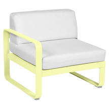 Bellevie 1 Seater Left Module - Frosted Lemon/Off White
