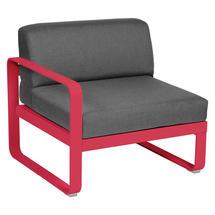 Bellevie 1 Seater Left Module - Pink Praline/Graphite Grey