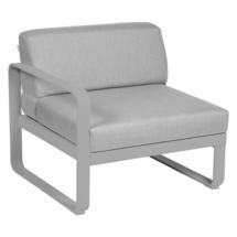 Bellevie 1 Seater Left Module - Steel Grey/Flannel Grey