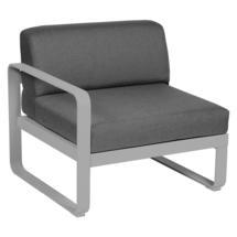 Bellevie 1 Seater Left Module - Steel Grey/Graphite Grey