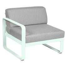 Bellevie 1 Seater Left Module - Ice Mint/Flannel Grey