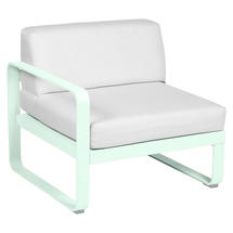 Bellevie 1 Seater Left Module - Ice Mint/Off White