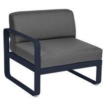 Bellevie 1 Seater Left Module - Deep Blue/Graphite Grey