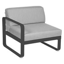 Bellevie 1 Seater Left Module - Anthracite/Flannel Grey