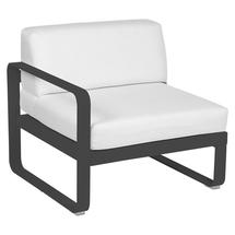 Bellevie 1 Seater Left Module - Anthracite/Off White