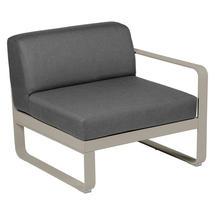 Bellevie 1 Seater Right Module - Nutmeg/Graphite Grey